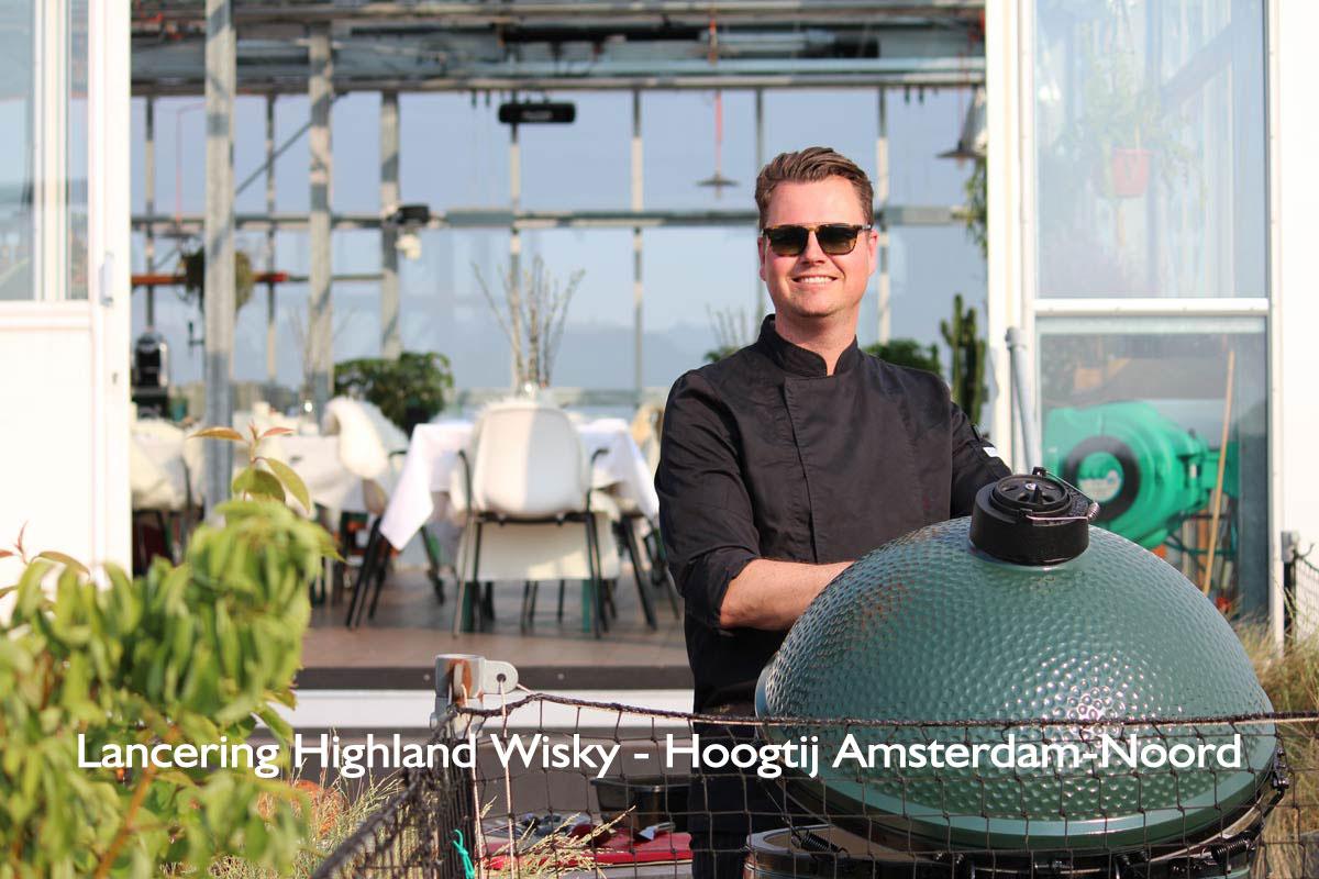 Exclusieve barbecue Hoogtij Amsterdam-Noord