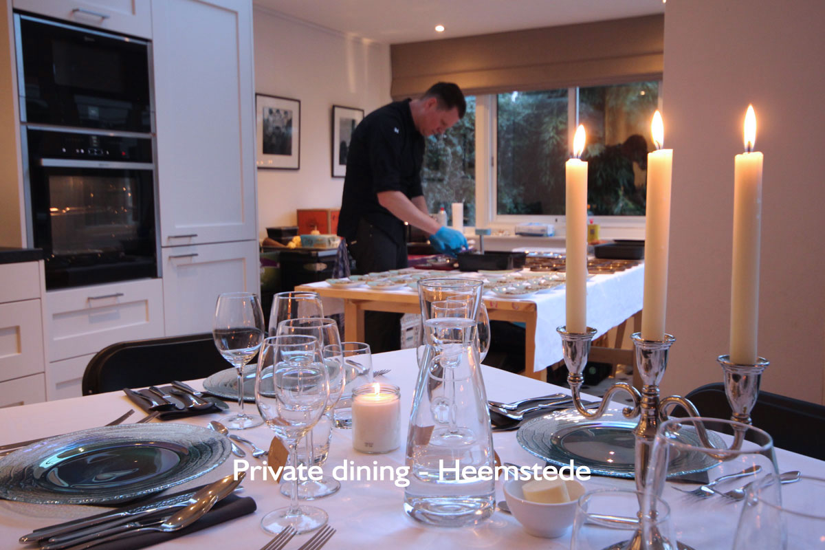Private dining Heemstede